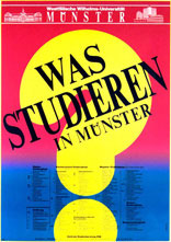 was studieren in Münster 1982