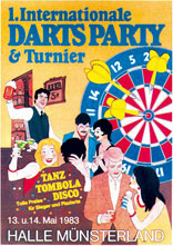 Darts Party & Turnier 1983
