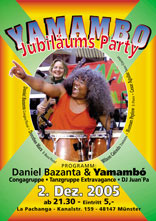 Yamambo Jubiläums Party 2005